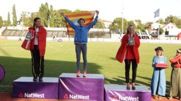 Lita López, primera medalla de oro en Gotland