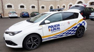 Segon vehicle híbrid per la Policia Local de Maó