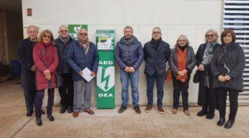 Nuevo desfibrilador en el Centro de Salud de Es Castell