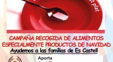 Gala solidaria para recoger alimentos en Es Castell