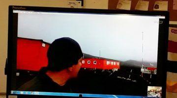 Los españoles en la Antártida explican su labor en la zona