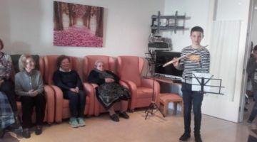 Projecte intergeneracional Residència geriàtrica d'Alaior