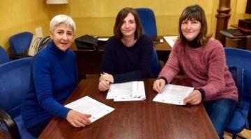 El CiMe firma un conveni amb les Protectores Animals
