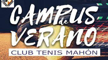 Campus de Verano 2018 del Club Tenis Mahón