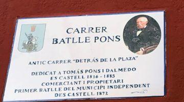 Es Castell complementa la información de las placas