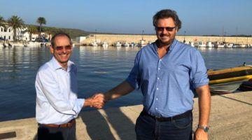 El Dr. Serrano, en la Unidad de Columna de Menorca